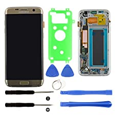 Samsung Galaxy S7 Edge Gold Screen Replacement