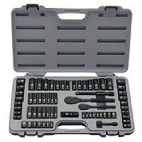 3/8' Drive Spark Plug Socket (New Stanley 92-824 69 Piece Black Chrome Deluxe Socket Tool Set Kit With Case)