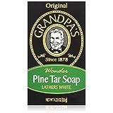 Grandpa's Soap Pine Tar 4.25 oz (Pack of 4)