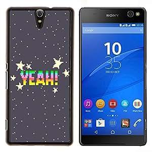 Dragon Case - FOR Sony Xperia C5 Ultra - The stars twinkle - Caja protectora de pl??stico duro de la cubierta Dise?¡Ào Slim Fit
