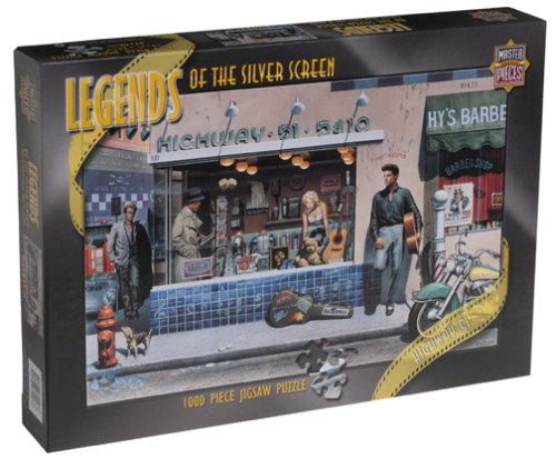 Legends of the Silver Screen Jigsaw Puzzle: Highway 51