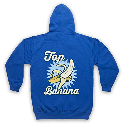 Top Banana Funny Adultos Sudadera con Capucha con Cremallera: Amazon.es: Ropa y accesorios