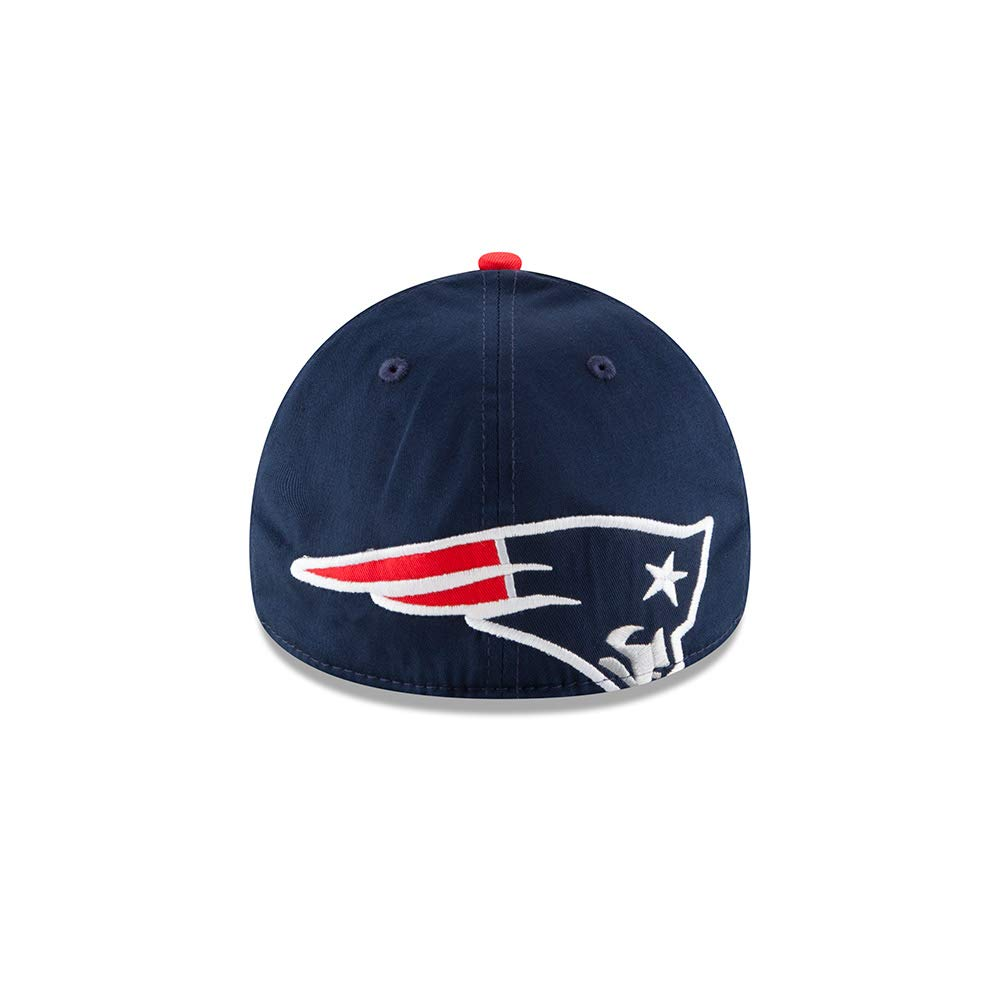 7378d0a1427 Amazon.com   New Era New England Patriots Clean Hit 39THIRTY Flex Fit Hat  Cap Large X-Large   Sports   Outdoors