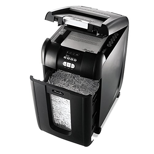 SWI1703092 - Stack-and-Shred 300XL Super Cross-Cut Shredder Bundle by Swingline