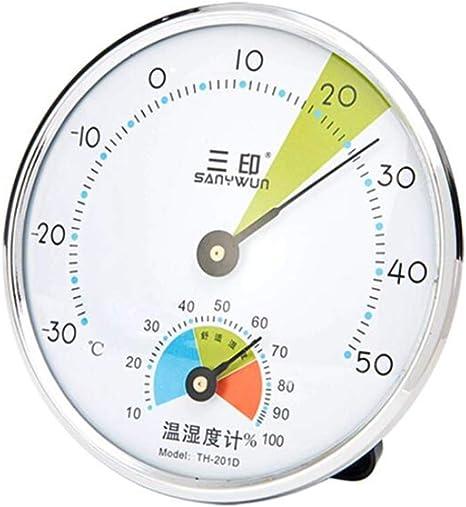 Higrometro Digital Termometro Higrometro Digital Relojes Jardin Hogar Termómetro E Higrómetro De Interior Para Bebés De Alta Precisión Para Interiores Montado En La Pared: Amazon.es: Bebé