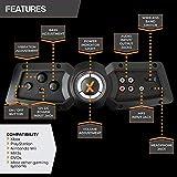 X Rocker Pro Series H3 Black Leather Vibrating