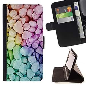 Momo Phone Case / Flip Funda de Cuero Case Cover - Naturaleza Hermosa Forrest Verde 134 - Samsung Galaxy A3