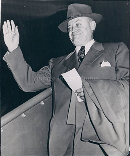 1951 San Francisco CA Senator Styles Bridges Republican Member Press Photo ()