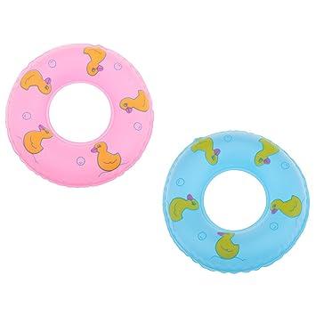Kinderbadespaß 2 stücke Schwimmring Kinder Aufblasbare Schwimmring Zubehör Pool Spielzeug de