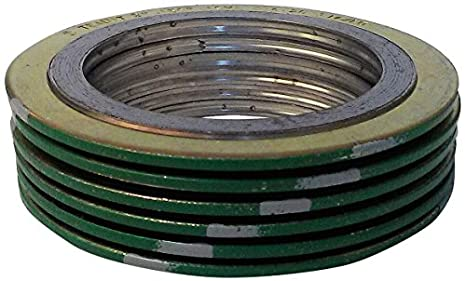 Virgin Teflon PTFE Pressure Class 150# Pack of 5 1//8 Thick Sterling Seal CFF7530.1500.125.150X5 7530 Full Face Gasket 1-1//2 Pipe Size 1//8 Thick Supplied by Sur-Seal Inc White of NJ 1-1//2 Pipe Size