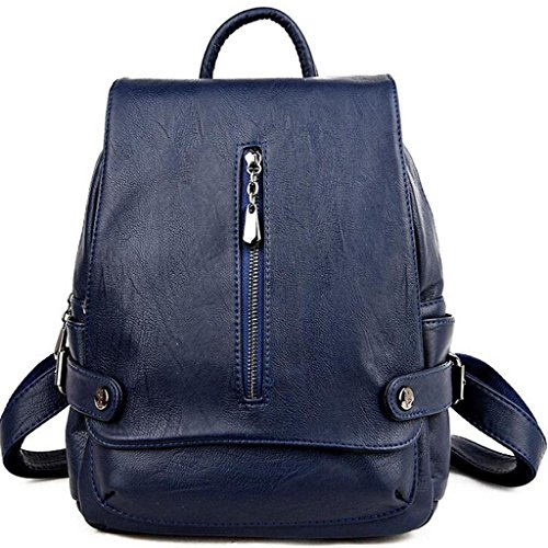 Zipper 27 amp;F Bags Shoulder handbag Y Ms blue bag backpack cm 17 backpack 33 vdH0xExwq