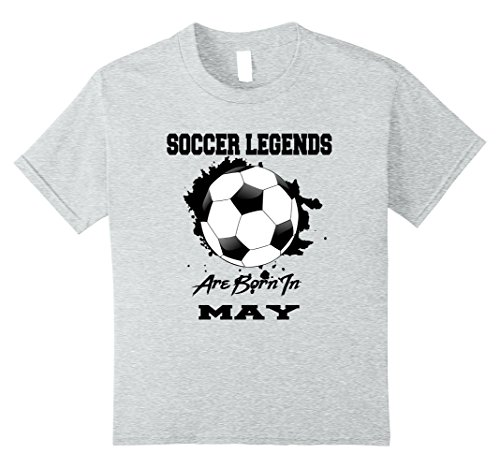 Kids Soccer Player May Birthday