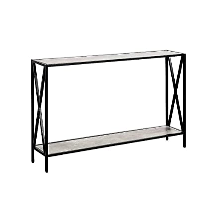 Merveilleux Amazon.com: Skinny Console Table Faux Birch Long XDesign Narrow Metal Wood  Furniture Modern Storage Rack Entryway Living Room Office U0026 EBook By  JEFSHOP: ...