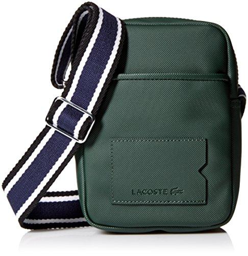 Lacoste Men's s Classic Fantaisie Slim Camera Bag, Sinopl...