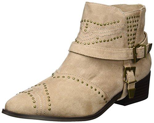 Nude Beige 961275 Damen Strada Boots La Biker qZ647PnwT