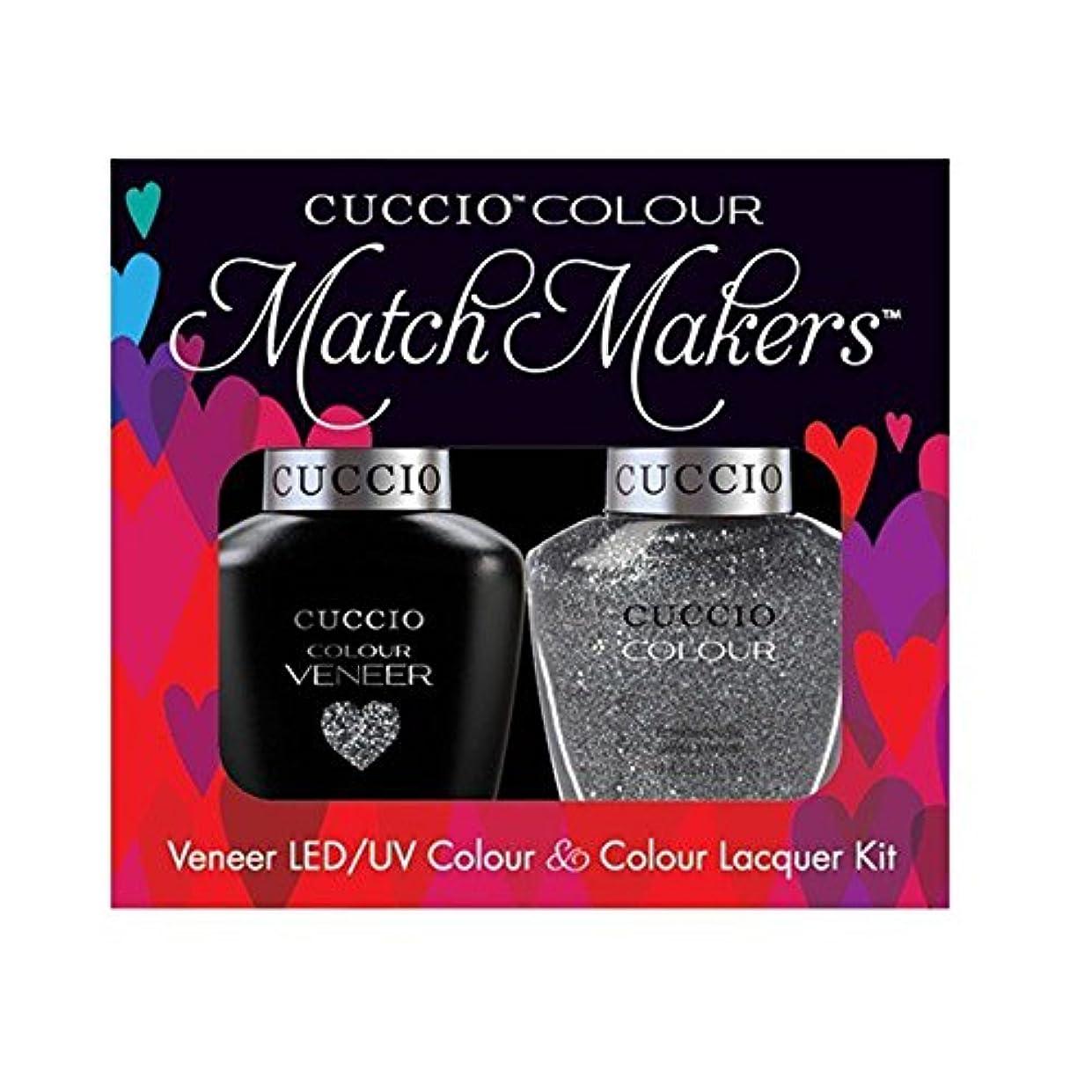 ペース先史時代のシステムCuccio MatchMakers Veneer & Lacquer - Vegas Vixen - 0.43oz / 13ml Each