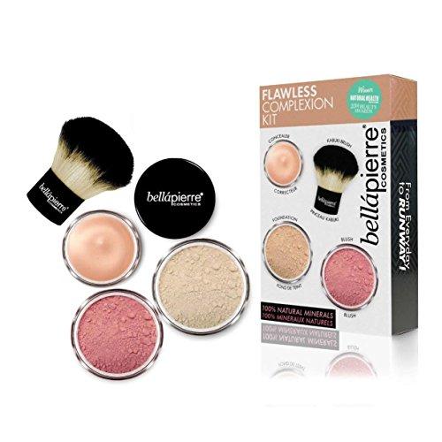 Bellapierre Cosmetics Flawless Complexion Kit, FAIR 75 Retail