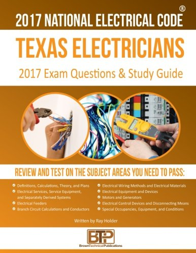 Texas Electricians Practice Exams and Study Guide