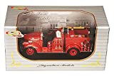 1941 GMC Fire Truck Dearboro Fire Dept., Red - Signature Models 32348 - 1/32 Scale Diecast Model Toy Car
