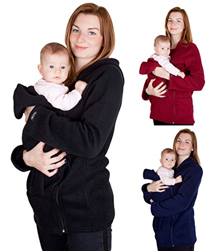 Baby A Cotton Baby Carrier-Wine Red - 5