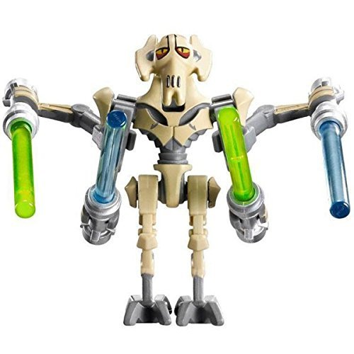[General Grievous Star Wars The Force Awakens Minifig Minifigure with 4 Lightsabers Compatible with] (Star Wars General Grievous)