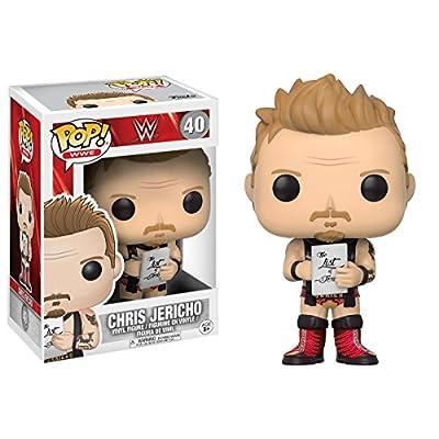 Funko Pop WWE-Jericho Old School: Funko Pop! Wwe:: Toys & Games