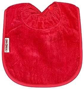 Silly billyz 22604 - Babero, color rojo