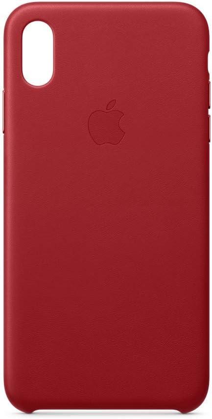 Apple Custodia in pelle (per iPhone XS Max) - (PRODUCT)RED: Amazon.it
