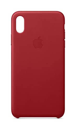 huge selection of 699b2 5780d Apple Leather Case (for iPhone Xs Max) - (Product) RED