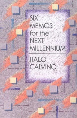 book cover of Six Memos for the Next Millennium