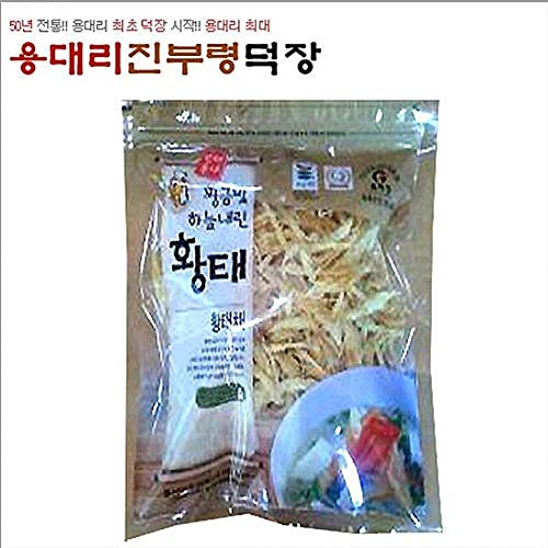 Dried Shredded Pollack 500g The Traditional Way 4 Months Natural Drying, Korea by Jinburyeong