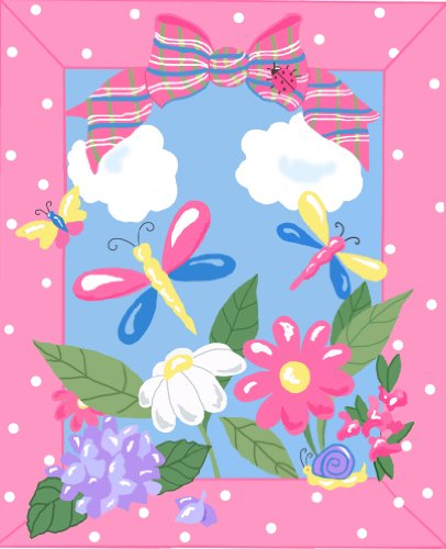 (Fun Rug JR-TSC-202 3958 Jade Reynolds Spring Time)
