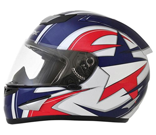 - AFX FX-95 Lone Star Mens Motorcycle Helmets - Small
