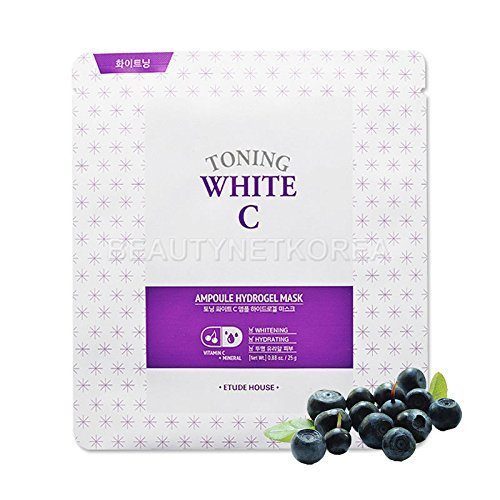 Etude-House-Toning-White-C-Ampoule-Hydrogel-Mask-1ea-Beautynet-Korea