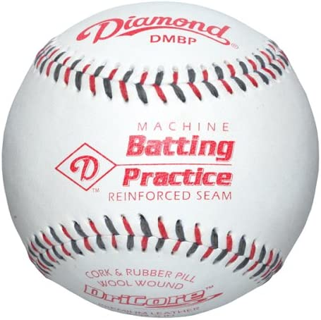 Diamond máquina práctica de bateo de béisbol con Costuras Planas, (Pack de 12): Amazon.es: Deportes y aire libre