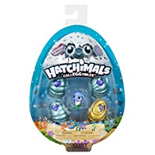 Hatchimals CollEGGtibles, Mermal Magic 4 Pack + Bonus with Season 5, for Kids Aged 5 and Up (Styles May Vary)