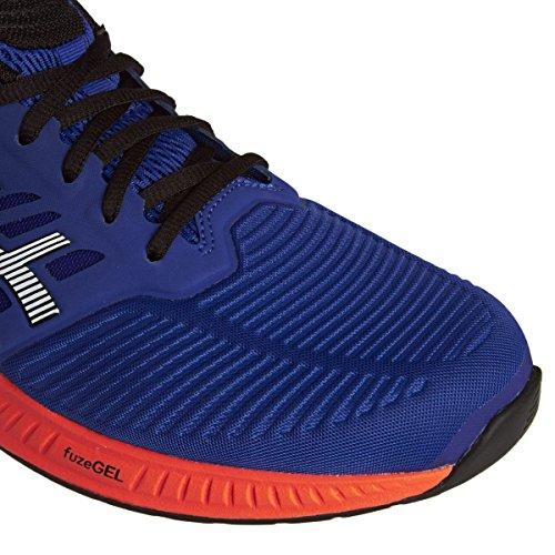 Asics FuzeX Men's Running Shoes (T639N) (ASICS Blue / Indigo Blue / Hot Orange) 9K3r5Il2