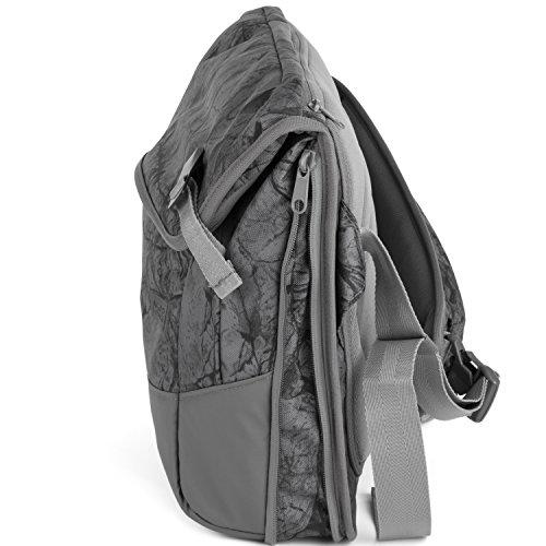 Aevor Maletín Messenger Bag Bolso bandolera 49 cm rock grain