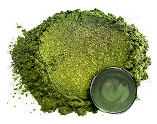 "- Eye Candy Mica Powder Pigment ""Matcha Green"" (50g) Multipurpose DIY Arts and Crafts Additive | Natural Bath Bombs, Resin, Paint, Epoxy, Soap, Nail Polish, Lip Balm"