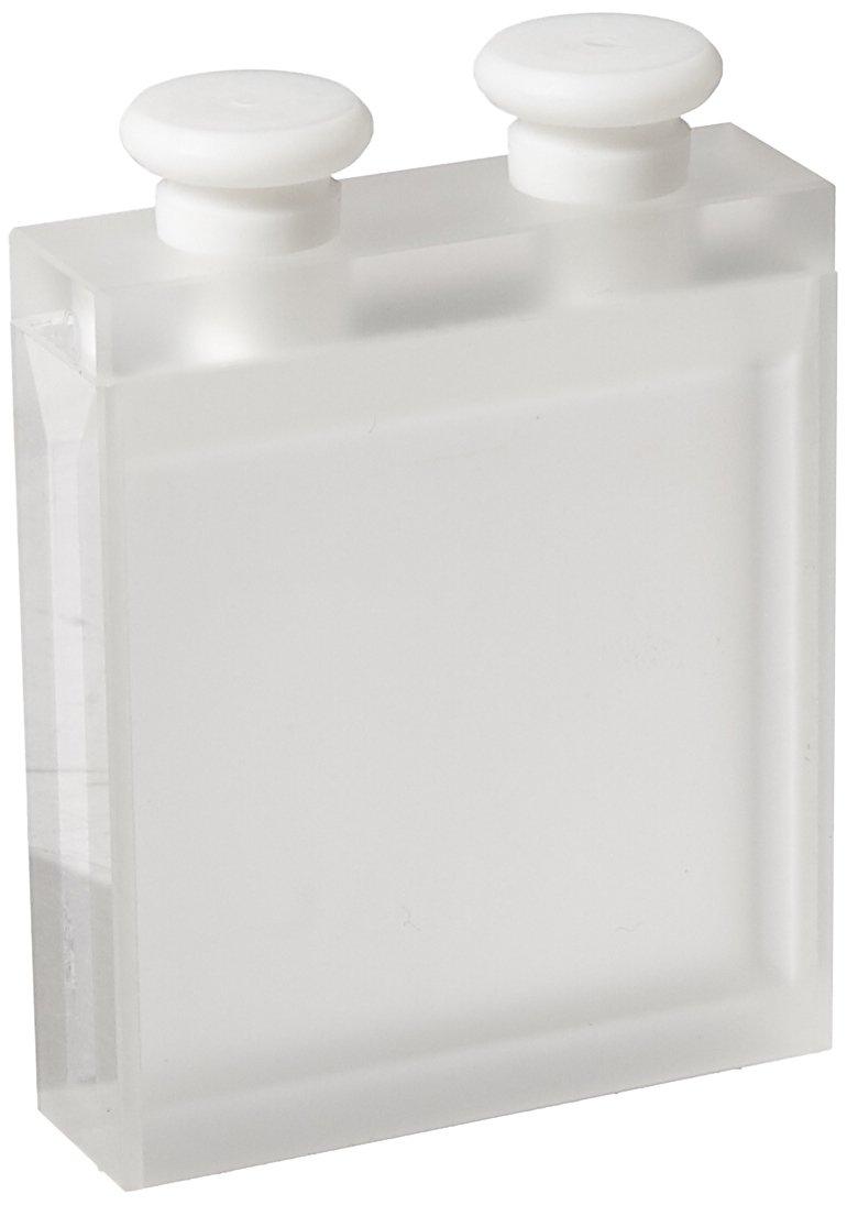 12.5 mm x 42.5 mm x 48 mm Size Thomas Scientific 5.6 mL Capacity Spectrosil Quartz 170-2700 nm Range Varsal 406-329-Q40 Semi Micro Cell with Stopper 40 mm Lightpath