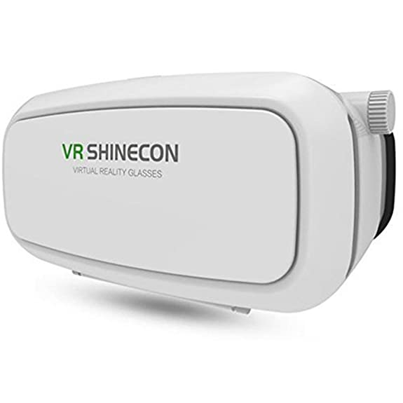 YPS SainSonic VR SHINECON Virtual Reality Headset 3D VR Glasses for Android & Apple Smartphones within