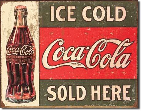(New Coca Cola Coke Sold Here 16