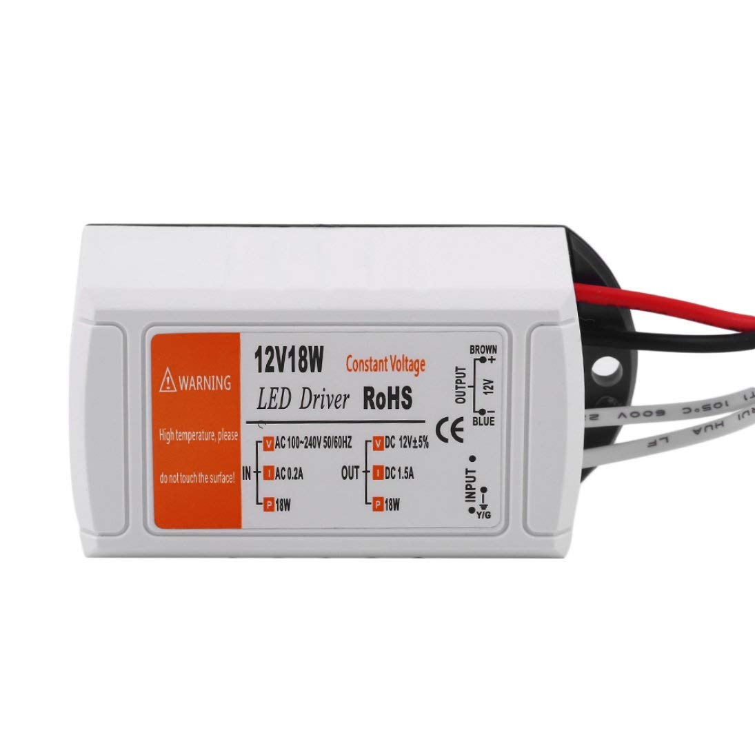 28W 100W 48W Trasformatore per trasformatore adattatore per driver 12v LED CC da 18W 72W