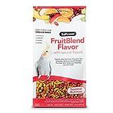 ZuPreem ZP82000 Fruitblend Medium Tiel Caged Bird Food, 14-Ounce
