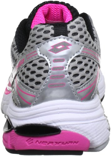 Lotto Sport REARCH PHOENIX SUPPORT W Q4114 - Zapatos para correr para mujer Gris (Grau (SILV/PINK SHOCK))