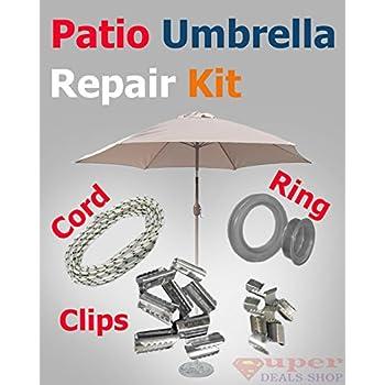 This Item Umbrella Replacement Repair Kit Umbrella Repair Kit Umbrella  Clips Patio Umbrella Cord Patio Umbrella Ring Patio Umbrella String Pario  Umbrella ...