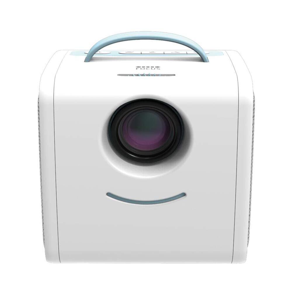 子供用ビデオミニプロジェクター、スムーズ画像、ホームシアター B07MLJVV28