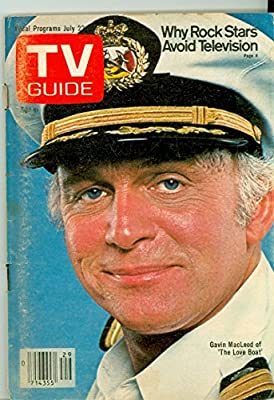 1978 TV Guide Jul 22 Gavin McLeod of the Love Boat - Kentucky Edition NO MAILING LABEL Very Good (3 out of 10) Well Used by Mickeys Pubs