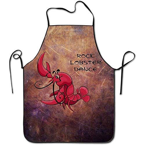 LFTRIS Adjustable Bib Aprons Rock Lobster Dance Custom