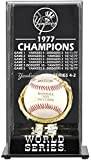 Mounted Memories New York Yankees 1977 World Series Champs Display Case